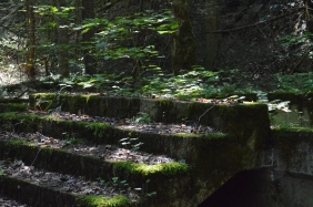 Some of the Caney Creek ruins