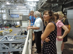 Touring the spallation neutron source