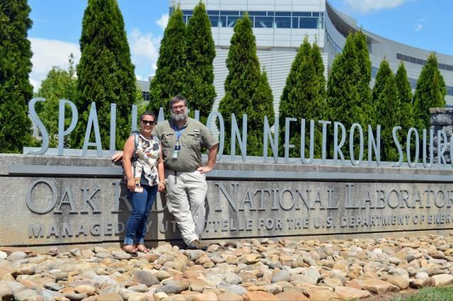 Kansas Smith (the author)  and Erik Iverson, one of our tour guides